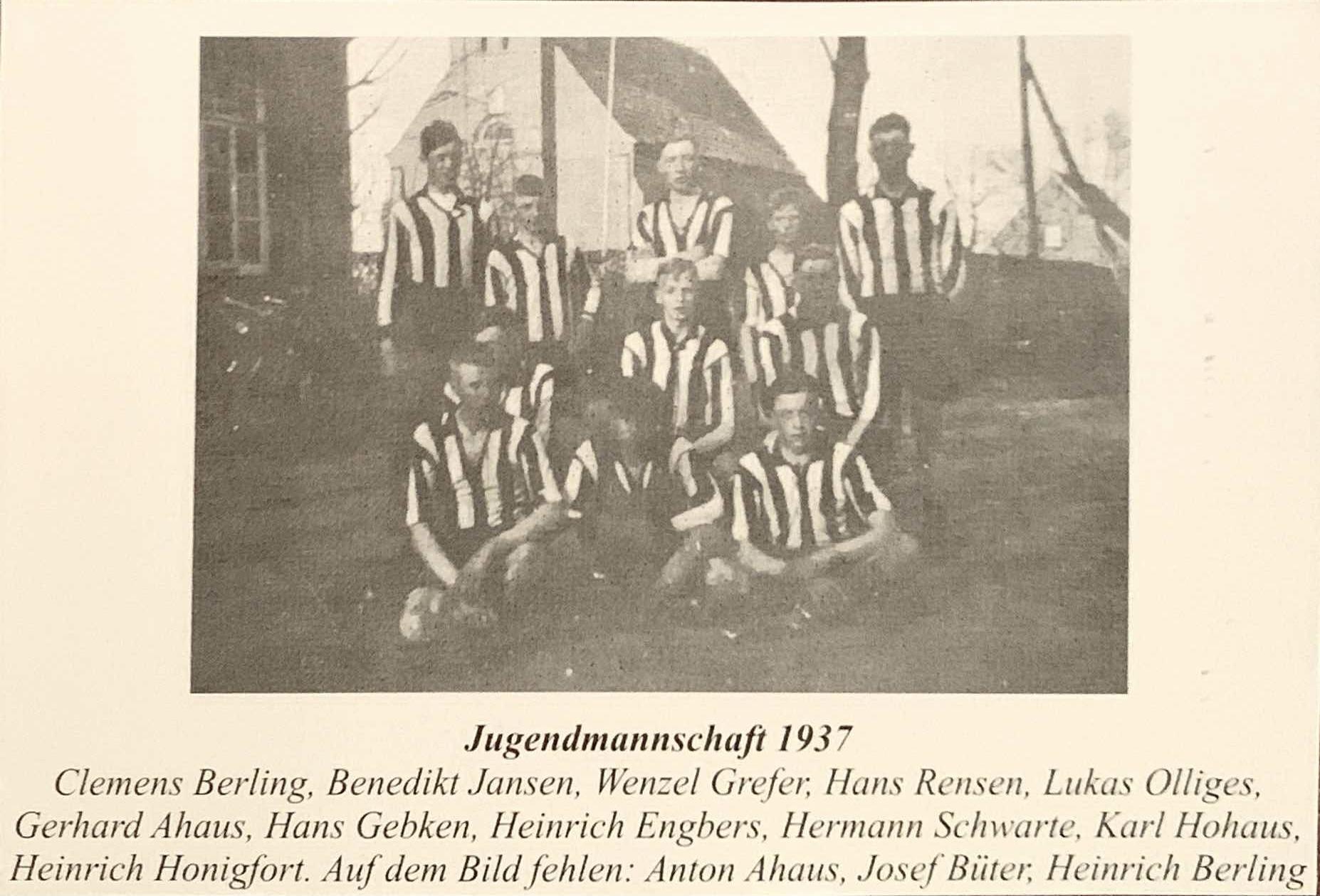 Jugendmannschaft1937